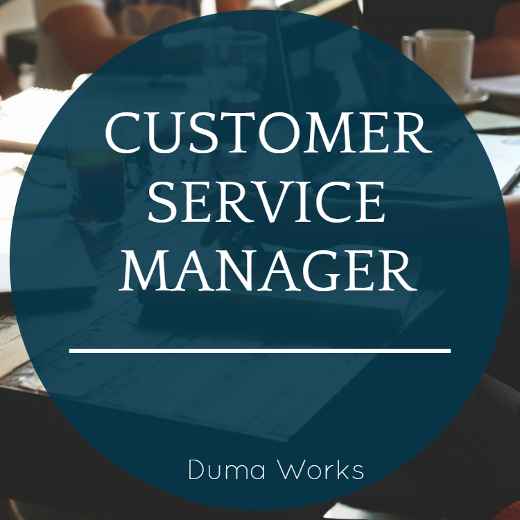 Job Opening Customer Service Manager  Duma Works Blog. Call Center Customer Service Representative Resume Examples. Sample Resume For Er Nurse. Banking Resumes. How To Describe Achievements In Resume. Education Accomplishments For Resume. Retail Management Resume Examples. Objective For Computer Engineer Resume. How To Make The Perfect Resume
