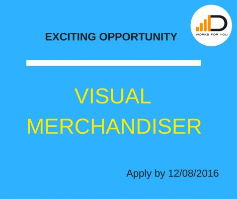 Job vacancy visual merchandiser duma works blog - Visual merchandising head office jobs ...